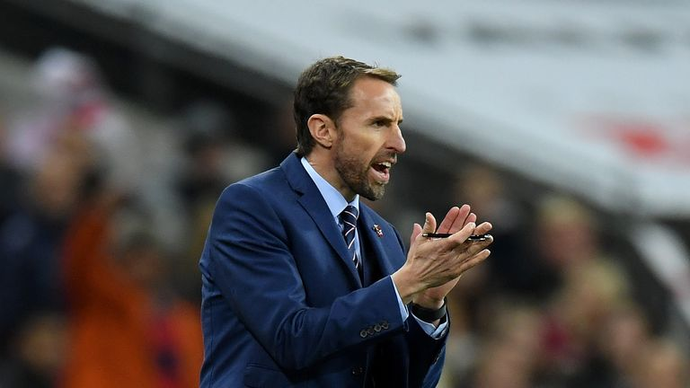 Gareth Southgate is expected to stick with a youthful side against Brazil