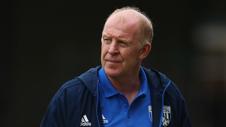BRISTOL, ENGLAND - JULY 29:  Gary Megson the assistant coach of West Bromwich Albion during the pre season match between Bristol Rovers and West Bromwich A