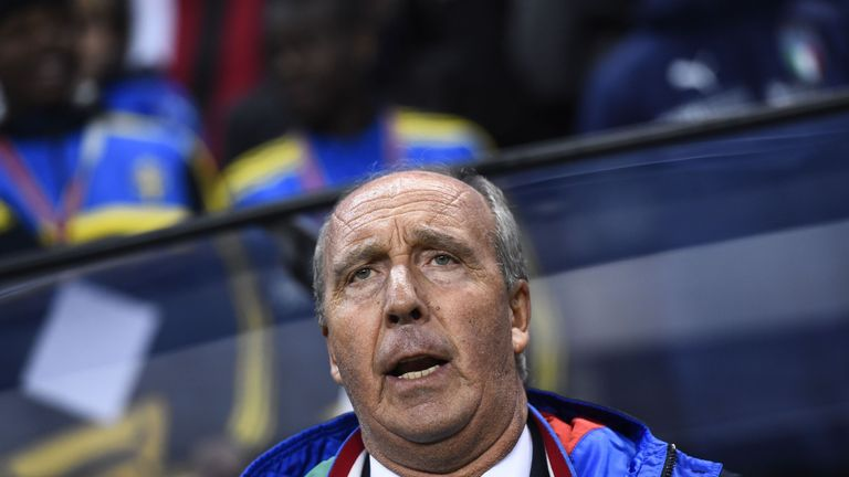 Italy boss Gian Piero Ventura saw his side lose in Stockholm