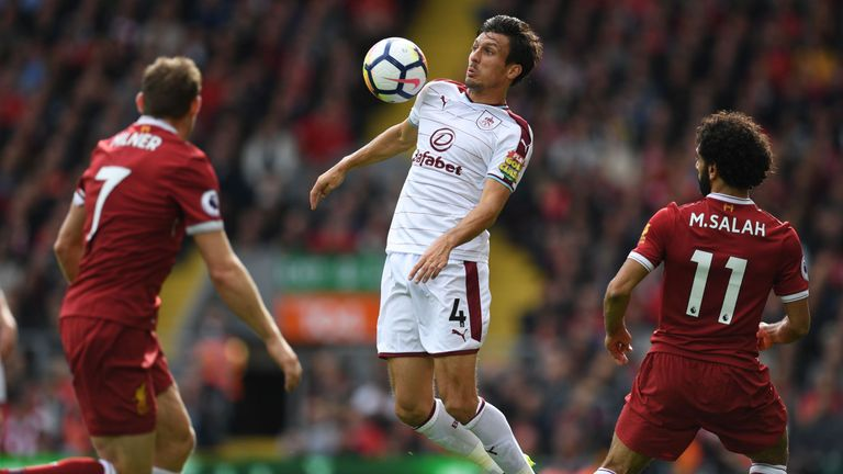Jack Cork has been a mainstay in the Burnley team under Sean Dyche