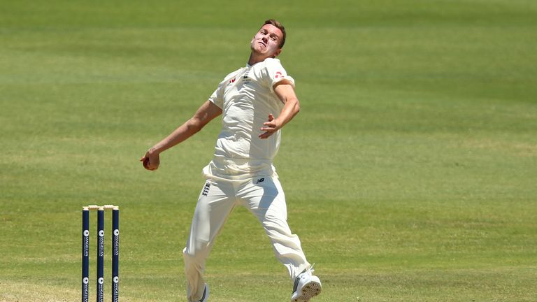 Jake Ball is hoping to be fit in time to play the first Test in Brisbane
