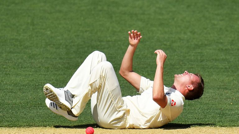 Ball has a suspected sprained ankle with just two weeks to go before the first Ashes Test