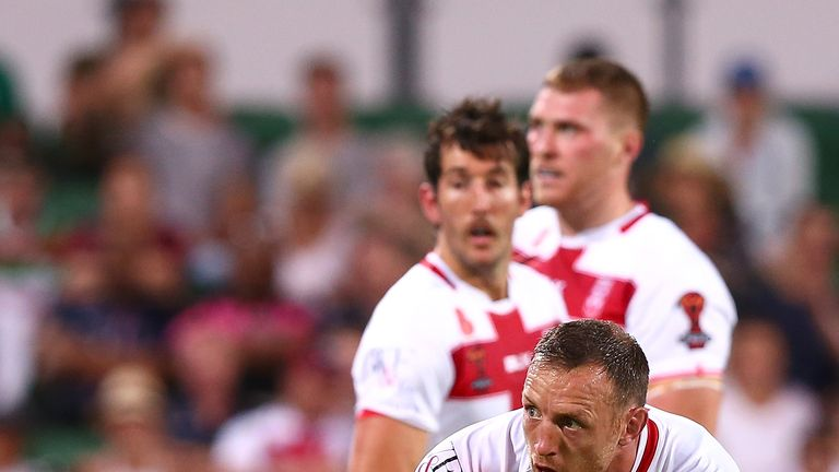 England will need a full eighty minutes from James Roby