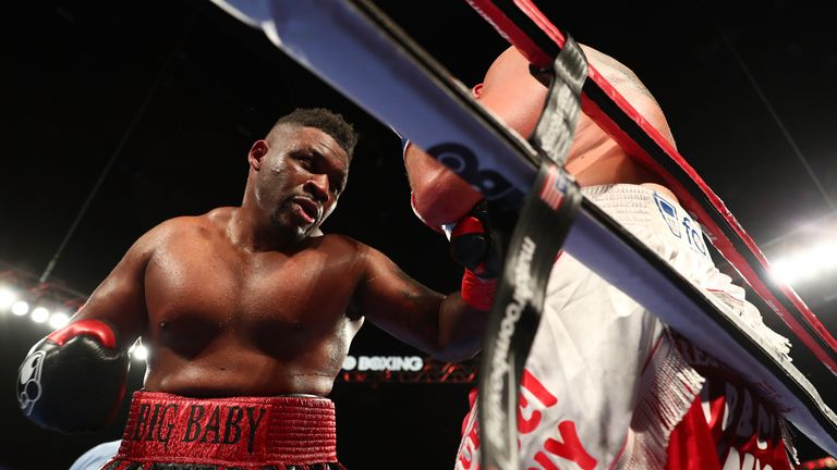 Jarrell 'Big Baby' Miller wants to force his way into Anthony Joshua's plans