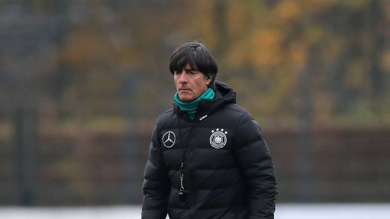 Germany head coach Joachim Low is being linked with Real Madrid