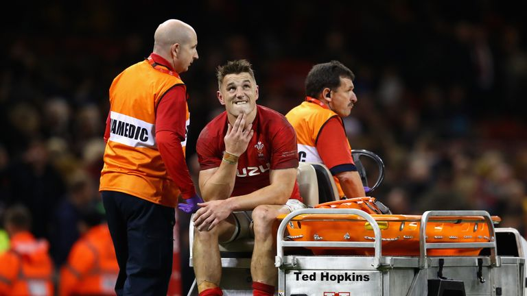 Jonathan Davies is currently sidelined with a knee injury