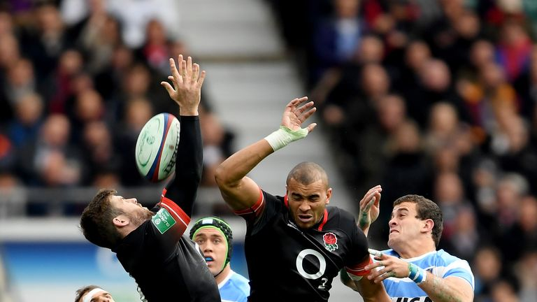 England beat Argentina 21-8 in a scrappy affair at Twickenham