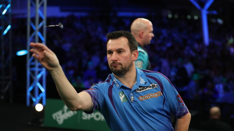 Jonny Clayton accounted for Rob Cross in an impressive run before coming up short against MvG in the final