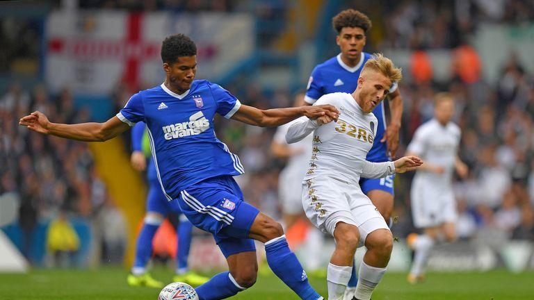 Ipswich defender Jordan Spence continues his three-match suspension