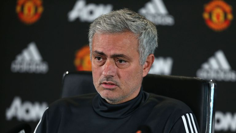 Manchester United boss Jose Mourinho will not meet unhappy fans