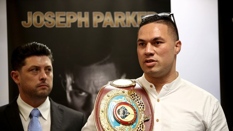 Parker was being lined up as a possible opponent in Britain for March or April