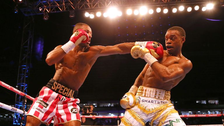 Kell Brook lost his IBF welterweight world title to Spence Jr