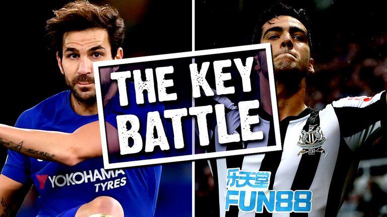 The Key Battle - Fabregas v Merino