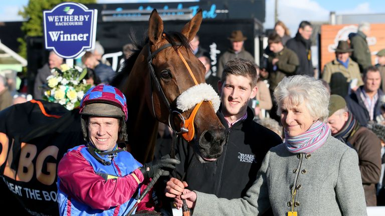 Richard Johnson: Rode four winners at Wetherby