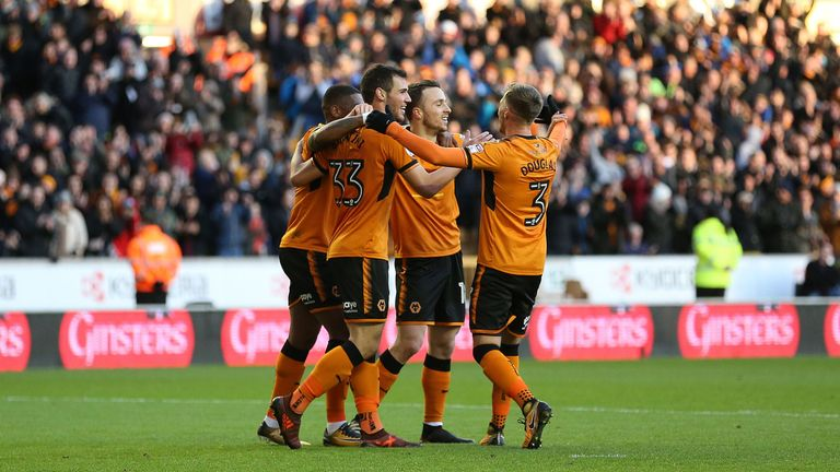 Wolves are 12 points clear at the top of the table