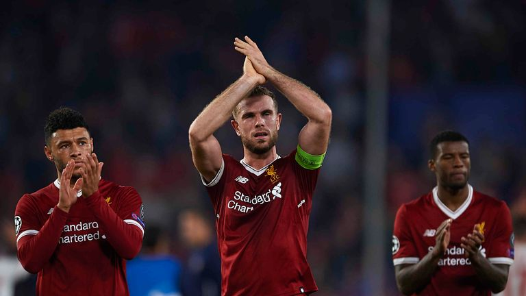 Liverpool threw away a three-goal lead at Sevilla on Tuesday