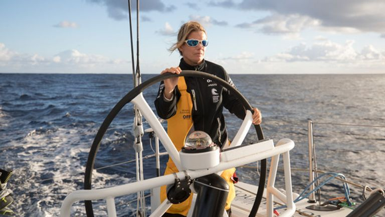 Liz Wardley was a skipper in the Sydney to Hobart Race aged just 19
