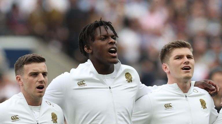 Maro Itoje says England are united in their desire to get back on track after the Six Nations