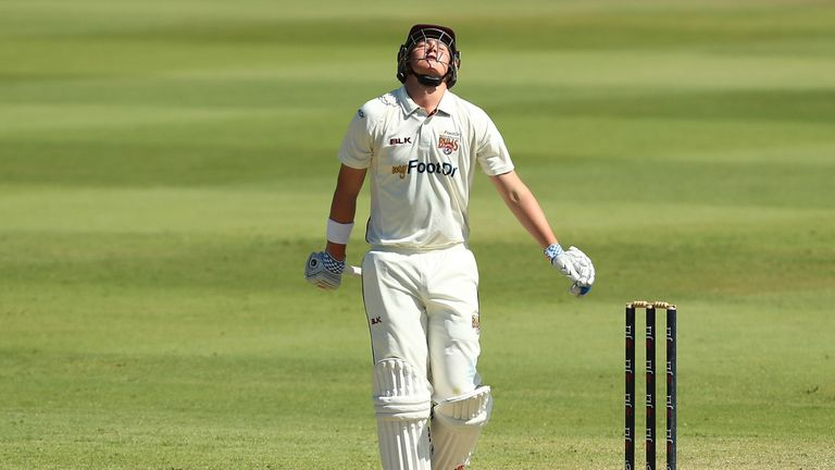 Matt Renshaw's place in the Australia team is under threat as his poor form continued
