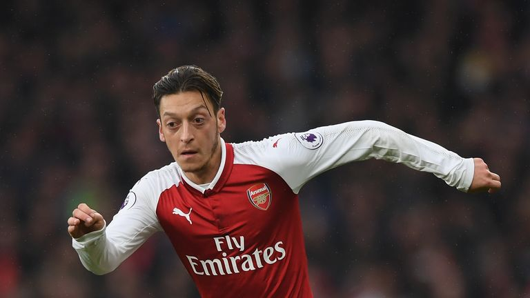 Mesut Ozil's contract talks have not reached the final-offer stage, says Arsene Wenger