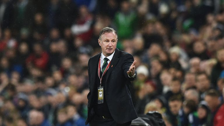 Northern Ireland want to keep Michael O'Neill but he will speak to Scotland