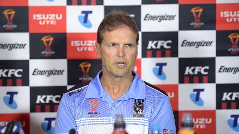 Fiji appointed Mick Potter as their head coach in March 2016