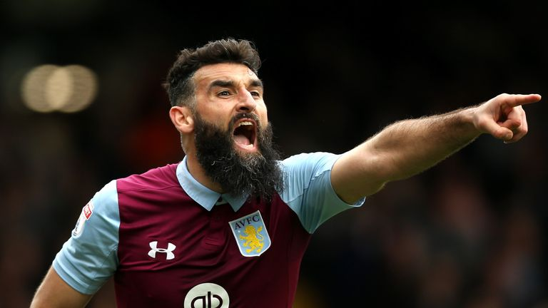 Jedinak has made 58 league appearances since moving to Villa Park in 2016