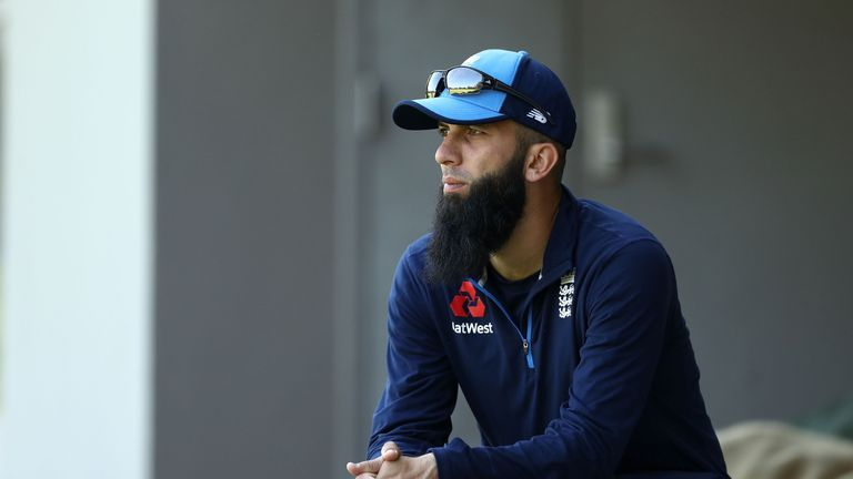 Moeen Ali has been sidelined by a minor side injury