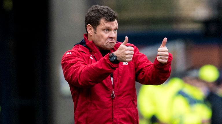 Graeme Murty is in charge at Ibrox until the end of the season