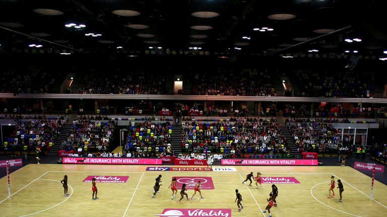 The Copper Box Arena played host to England and Malawi on Sunday