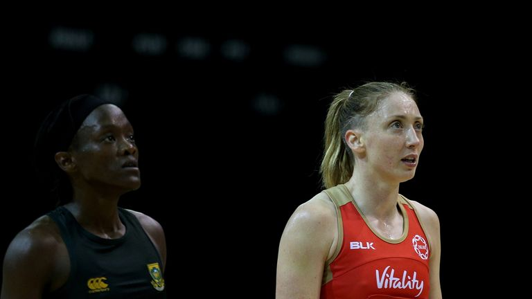 Jade Clarke has spoken to Sky Sports about her international and domestic commitments