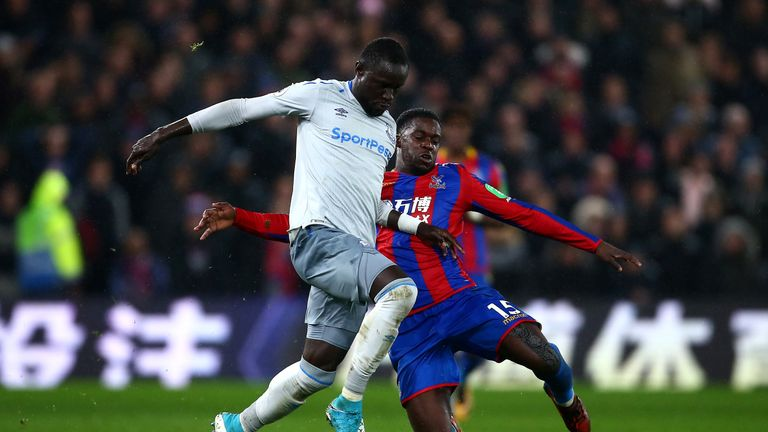 Palace lost 3-1 to Everton in their last league outing
