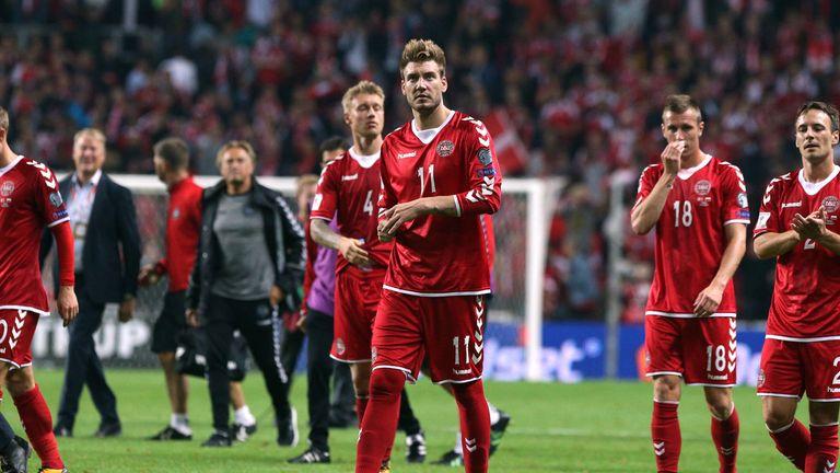 Bendtner made his Denmark return against Poland