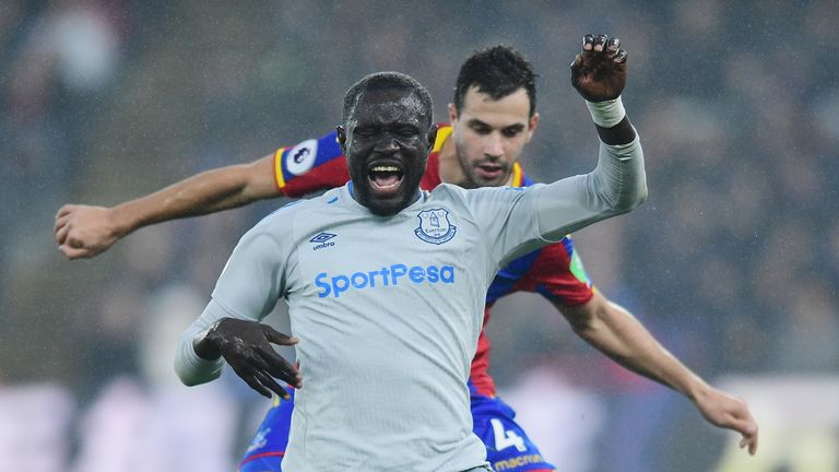 Niasse won a controversial penalty in the 2-2 draw with Crystal Palace on Saturday