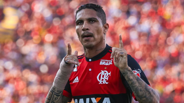 Paolo Guerrero will miss Peru's World Cup qualifying play-off against New Zealand