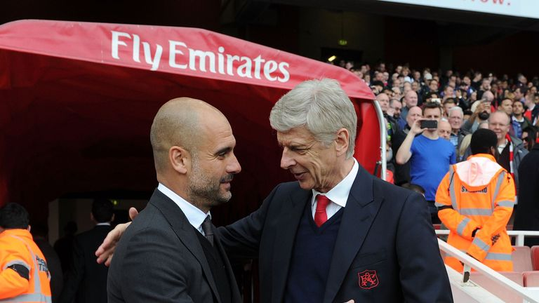 Arsene Wenger says Pep Guardiola's Manchester City can be beaten