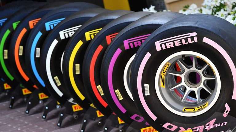 The hypersoft is one of seven tyres available to Pirelli in 2018