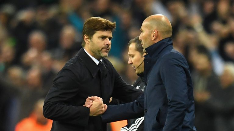 Mauricio Pochettino saw his side rise to the challenge at Wembley
