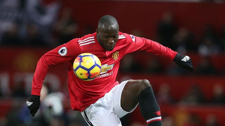 Lukaku scored his first goal in seven games on Saturday