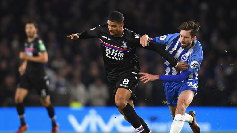 VAR will be used in the FA Cup third-round tie between Brighton and Crystal Palace