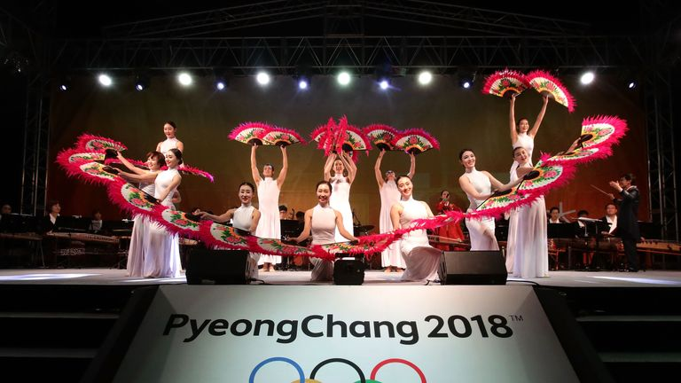 South Korean is busy preparing for the 2018 Winter Olympics