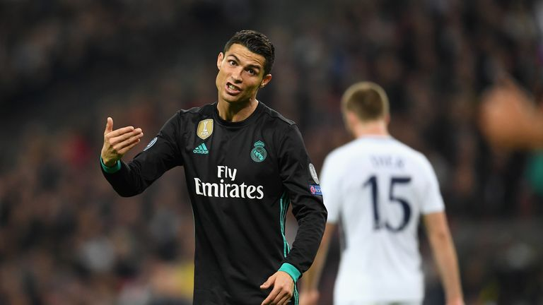 Real Madrid's Champions League defeat at Spurs leaves them second in Group H