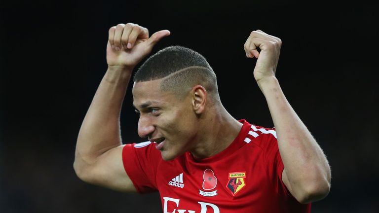 Richarlison put Watford in front shortly after half-time
