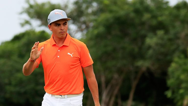 Fowler mixed six birdies with two bogeys