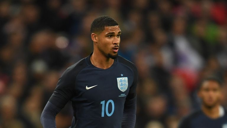 Ruben Loftus-Cheek in action for England against Germany