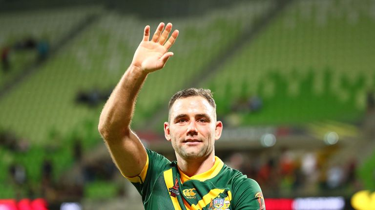 Cameron Smith was awarded this year's Golden Boot