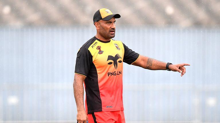 Papua New Guinea coach Michael Marum also coaches Queensland Super Cup side PNG Hunters