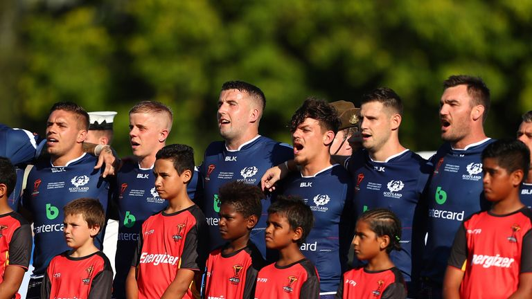The Bravehearts suffered a 50-4 defeat to Tonga in Round 1