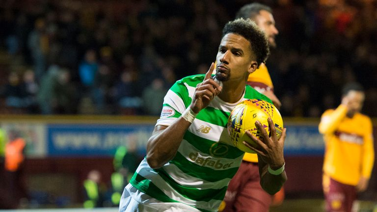 Scott Sinclair struck late on to save Celtic from defeat at Motherwell