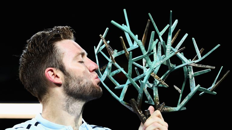 Jack Sock reached the ATP Finals by wining the Paris Masters